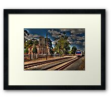 Guildford Post Office Crossing! Framed Print