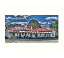 Lue Hotel, Central NSW, Australia Art Print