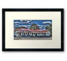 Lue Hotel, Central NSW, Australia Framed Print