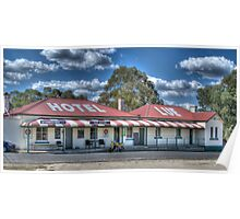 Lue Hotel, Central NSW, Australia Poster