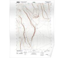 USGS Topo Map Oregon Corporation Rim 20110816 TM Poster