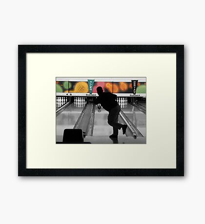 Classic Bowler Framed Print