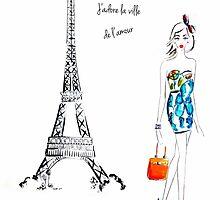 Paris by melissacorsari