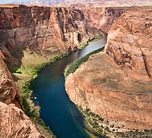 Horseshoe Bend 2 by Kim Barton
