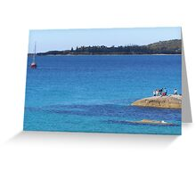 South West Rocks, New South Wales. Australia. Greeting Card