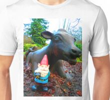 Cow Gnome Unisex T-Shirt