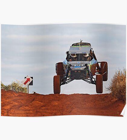 Car 123 - Finke 2011 Day 1 Poster