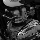 Triumph Bonneville by Steve Mezardjian
