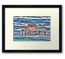 Point Lonsdale victoria Framed Print