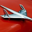1955 Chevy Belair Hood Ornament by Elaine Bawden
