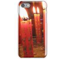 Candles at the Jade Pagoda Palace, HCMC iPhone Case/Skin