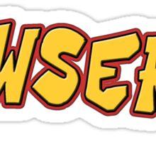 Wowsers Sticker