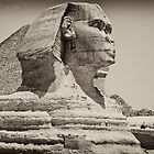 Egypt in Antique BW by d700