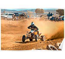 Quadbike - Tattersalls Finke Desert Race 2011 Poster