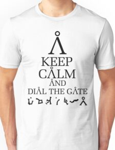 Stargate SG1 - Keep Calm and Dial The Gate T-Shirt