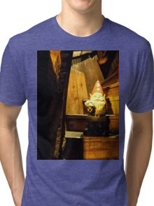 Haunted Stairs Gnome Tri-blend T-Shirt