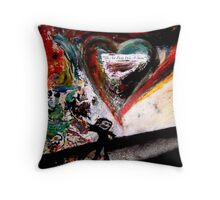 The Art Party Was A Storm Throw Pillow
