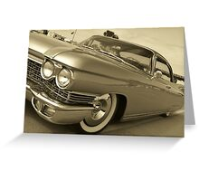 60 Cadillac Greeting Card