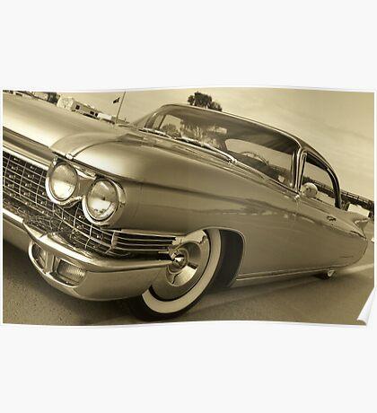 60 Cadillac Poster