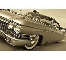 60 Cadillac Photographic Print