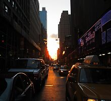 Sunset on 51st by axemangraphics