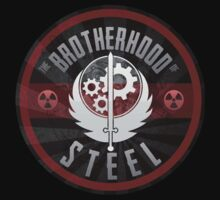 Brotherhood of Steel Round by BottleCap