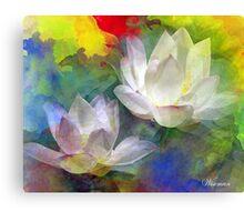 Dance of Colors Canvas Print