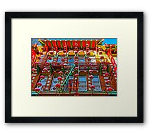 Windows and Lanterns Framed Print