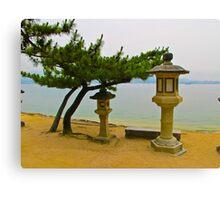 Miyajima Waterfront Canvas Print