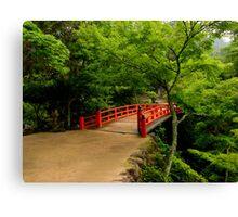 Miyajima Bridge Canvas Print