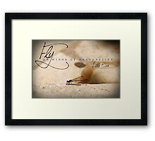 Fly On Wings of Dragonflies, Little One Framed Print