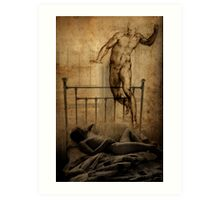 Michelangelo's Dream Art Print