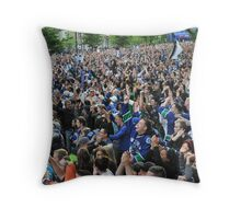 Canucks Victory Throw Pillow