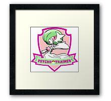 Psycho trainer Framed Print