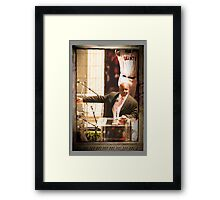 3-Barry Bonds SF Celebration 8/24/2007 Framed Print