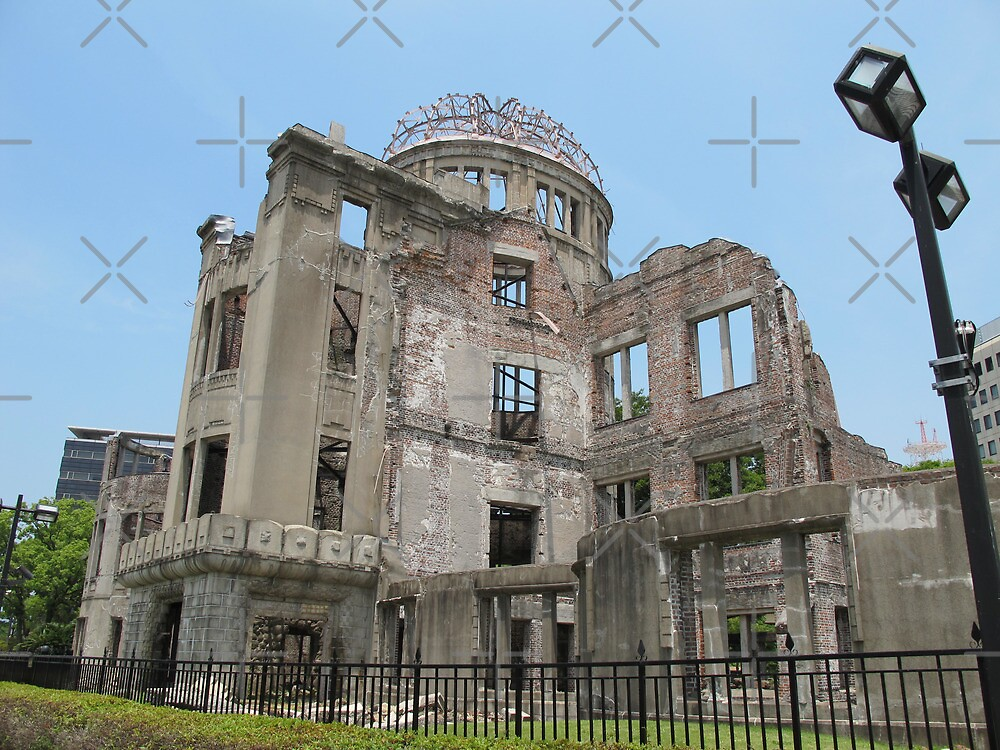 Hiroshima Peace Dome #1 by axemangraphics