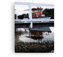 Above and Below The Wharf Canvas Print