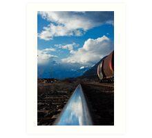 Kootenay Valley Rail Siding Art Print