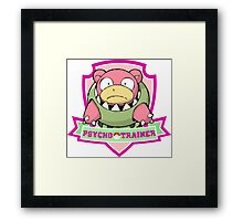 Psycho trainer #2 Framed Print
