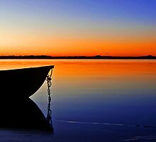 Just before the Dawn - Redland Bay Qld by Beth  Wode