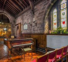 Church Piano by Ian Mitchell