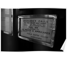 Emergency Calls Poster