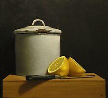 Enamel Lemons by Paul Coventry-Brown
