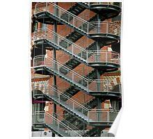 Staircase Barcelona Poster