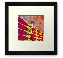 Eve of the War and the Martian Spacecraft Framed Print