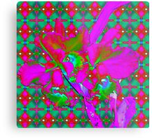 Psychedelic Orchids Metal Print