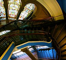 Queen Victoria Building (QVB), Sydney by Justine Chesterman