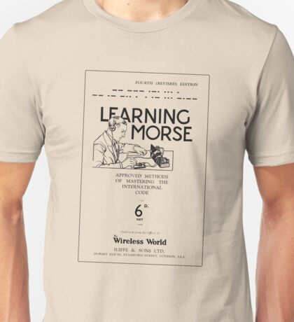 Learning Morse - Light Unisex T-Shirt