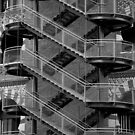 Staircase Barcelona II by Louise Fahy