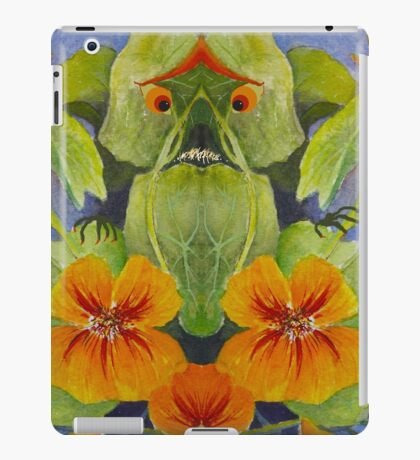 Nasty Nasturtium Monster iPad Case/Skin